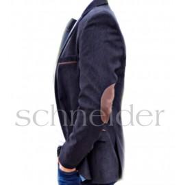 Schneider Könyökfoltos sportzakó sötétszürke